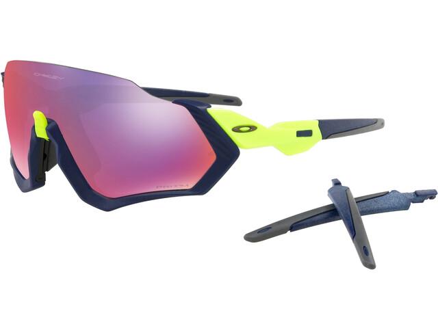 Oakley Flight Jacket Sunglasses matte navy/prizm road